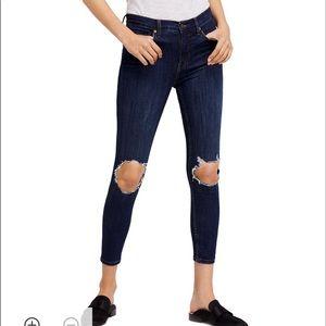 Free People Busted Knee Skinny Jean 29R